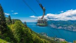 Italie - Gardameer - kabelbaan naar de Monte Baldo