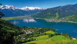 Oostenrijk, Salzburgerland - panoramisch uitzicht