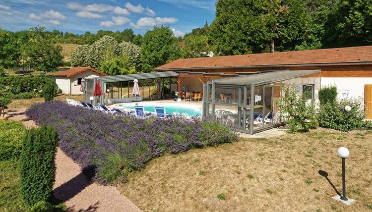 Hotel des Trois Maures Bourgogne - mooie omgeving