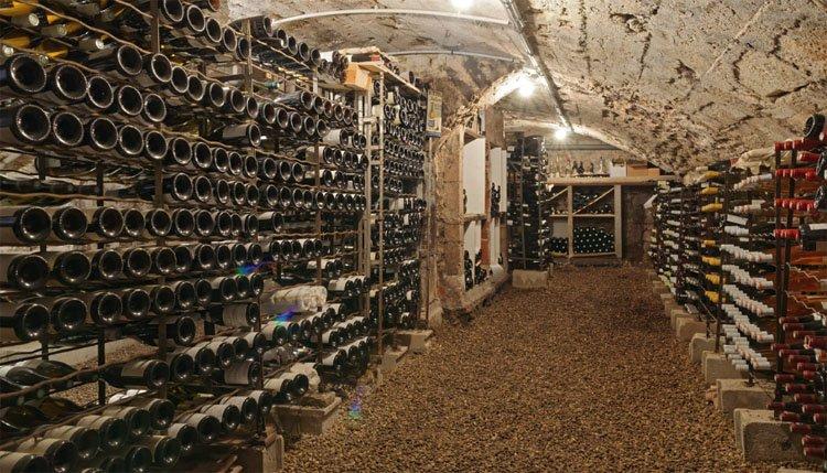 Hotel des Trois Maures Bourgogne - wijnkelder