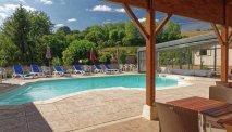 Hotel des Trois Maures Bourgogne - zwembad