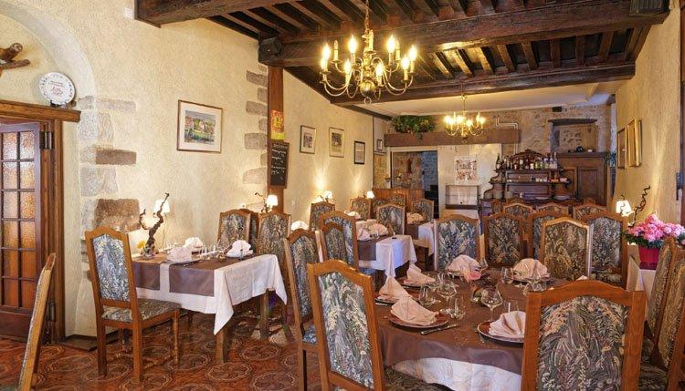 Hotel des Trois Maures Bourgogne - restaurant