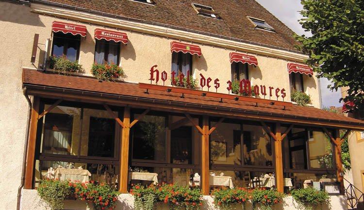 Hotel Des Trois Maures - gezellige veranda