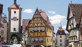 De knusse Beierse vakwerkhuisjes