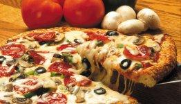 De wereldberoemde pizza