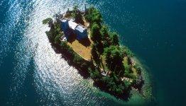 Monte Isola in het Iseomeer