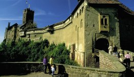 Bezoek Eisenach in Thüringen