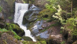 Bezoek de waterval in Triberg in Zwarte Woud