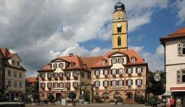 Bad Mergentheim schilderachtig gelegen aan de Romantische Strasse