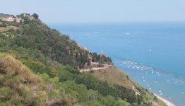 Ancona aan de Adriatische kust