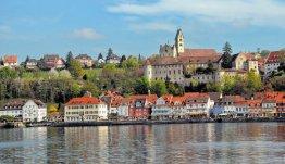 Meersburg aan de oevers van de Bodensee