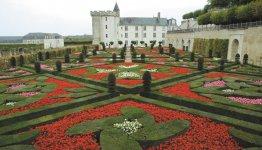Kasteeltuin in de Loire