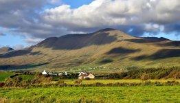 Het meeste noordelijke schiereiland van County Kerry in Ierland is Dingle