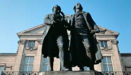 Weimar Goethe Schiller beeld