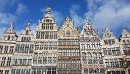 Gevels in Antwerpen