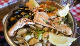 Ook in Ierland kun je genieten van heerlijke schelp- en schaaldieren