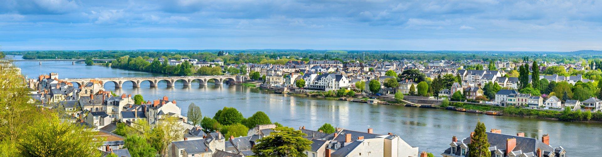 Banner Frankrijk - Saumur aan de Loire