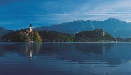 Noordwest Slovenië - het meer van Bled