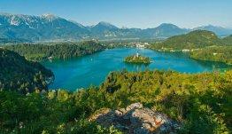 Noordwest Slovenië - prachtig meer van Bled