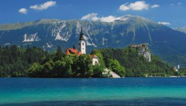 Bled, een van de bendste en populairste plaatsen van Slovenië