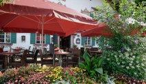 Hotel Alte Post, Oberammergau - heerlijk terras