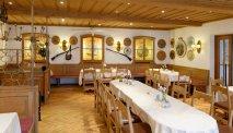 Hotel Alte Post, Oberammergau - heerlijk eten en drinken in de Hubertus Stube