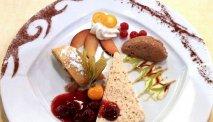 De heerlijke keuken van Hotel Goldene Rose.