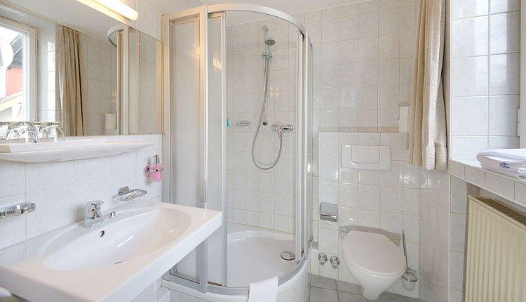 Hotel Alte Post - 2-persoonskamer Standard, badkamer