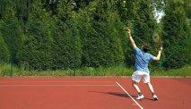 Hotel les Jardins de la Molignee beschikt over 2 tennisbanen