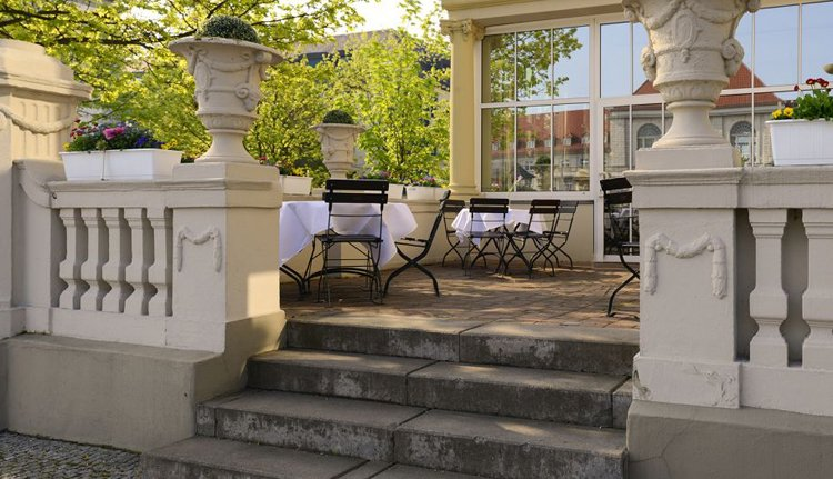 Hotel Kaiserin Augusta - sfeervol terras