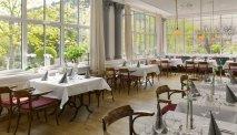 Genieten in de heerlijke wintertuin / serre van Hotel Kaiserin Augusta