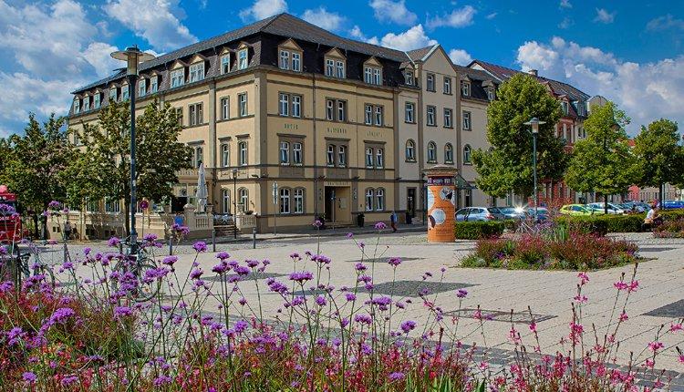 Banner Hotel Kaiserin Augusta, Weimar - Thüringen, Duitsland