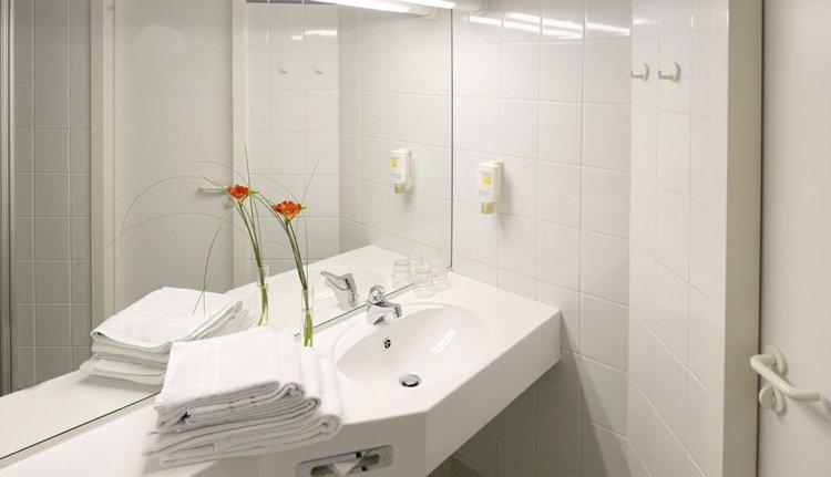 Hotel Kaiserin Augusta - 1-persoonskamer, badkamer