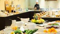 Thermenhotel Bleibergerhof, uitgebreid ontbijtbuffet