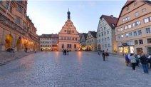 Hotel Eisenhut - Marktplein in Rothenburg
