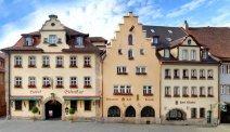 Hotel Eisenhut in het centrum van Rothenburg