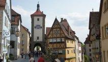 Midden in het centrum van Rothenburg vindt u Hotel Eisenhut