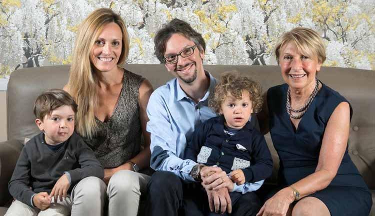 Hotel Ercolini e Savi wordt al jarenlang met trots gerund door de familie... generatie op generatie.