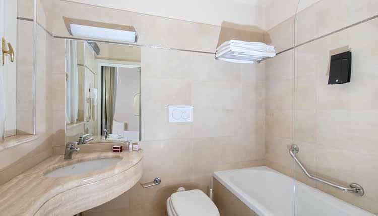 Hotel Ercolini e Savi - 2-persoonskamer badkamer