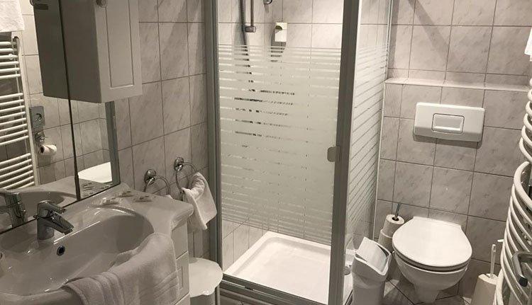 Hotel Rheinlust - comfortabele badkamer