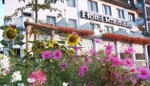 Hotel Rheinlust is prachtig gelegen