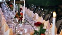 De gedekte tafels staan voor u klaar in Hotel Lahnblick
