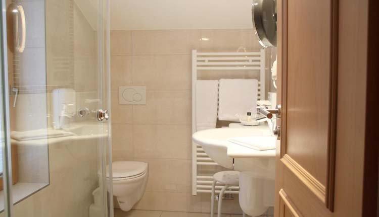 Hotel Schöne Aussicht - 2-persoonskamer Comfort badkamer