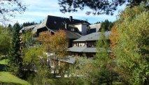 De indrukwekkende natuurlijke omgeving van Hotel Schöne Aussicht