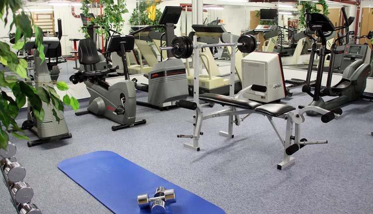 Hotel Schöne Aussicht -  fitnessruimte