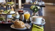 Hotel am Wasserturm - heerlijk uitgebreid ontbijtbuffet