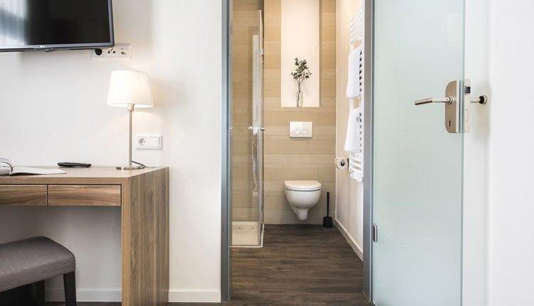 Hotel am Wasserturm - badkamer