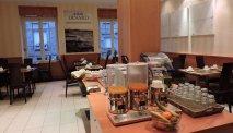 De ontbijtzaal van Hotel Balmoral