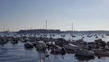 Vanuit Hotel Balmoral loopt u zó naar de haven van Dinard
