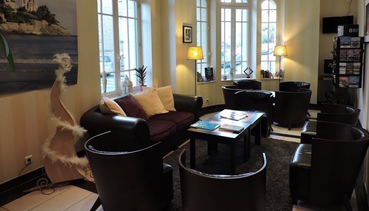 De lounge van Hotel Balmoral
